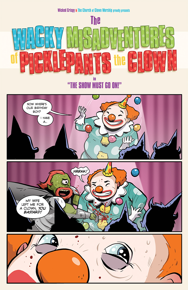 115: And now, Picklepants the Clown!