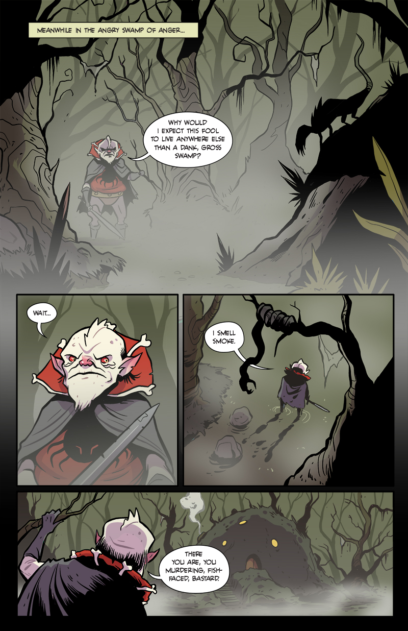 137: Meanwhile, in the Angry Swamps of Anger…