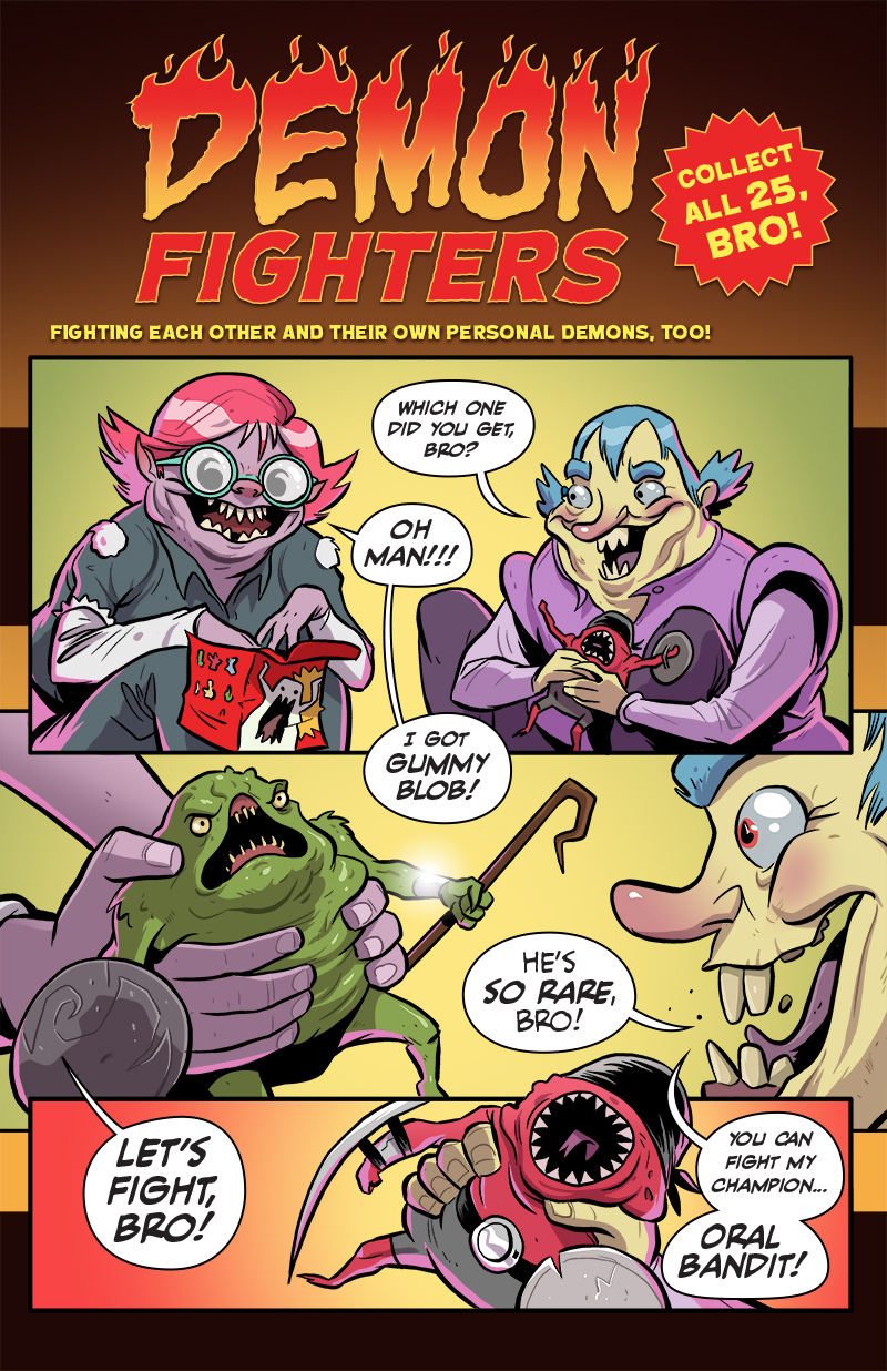 156: Demon Fighters, BRO!